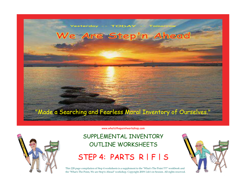 WTP Step 4 worksheets Cover New